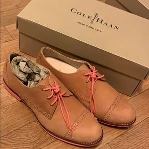 Suede Cole Haan Oxford Shoes